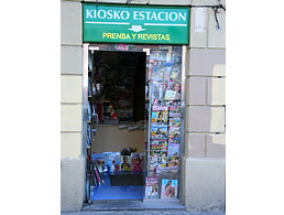 Kiosko Estación Badillo