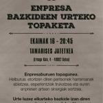 XI Enpresa Bazkideen Urteko Topaketa gonbidapena