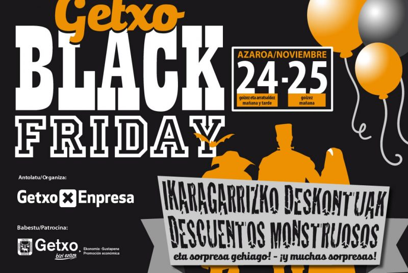 GETXO BLACK FRIDAY
