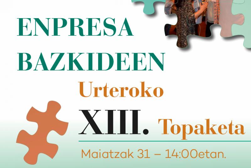 Enpresa Bazkideen Urteroko XIII. Topaketa
