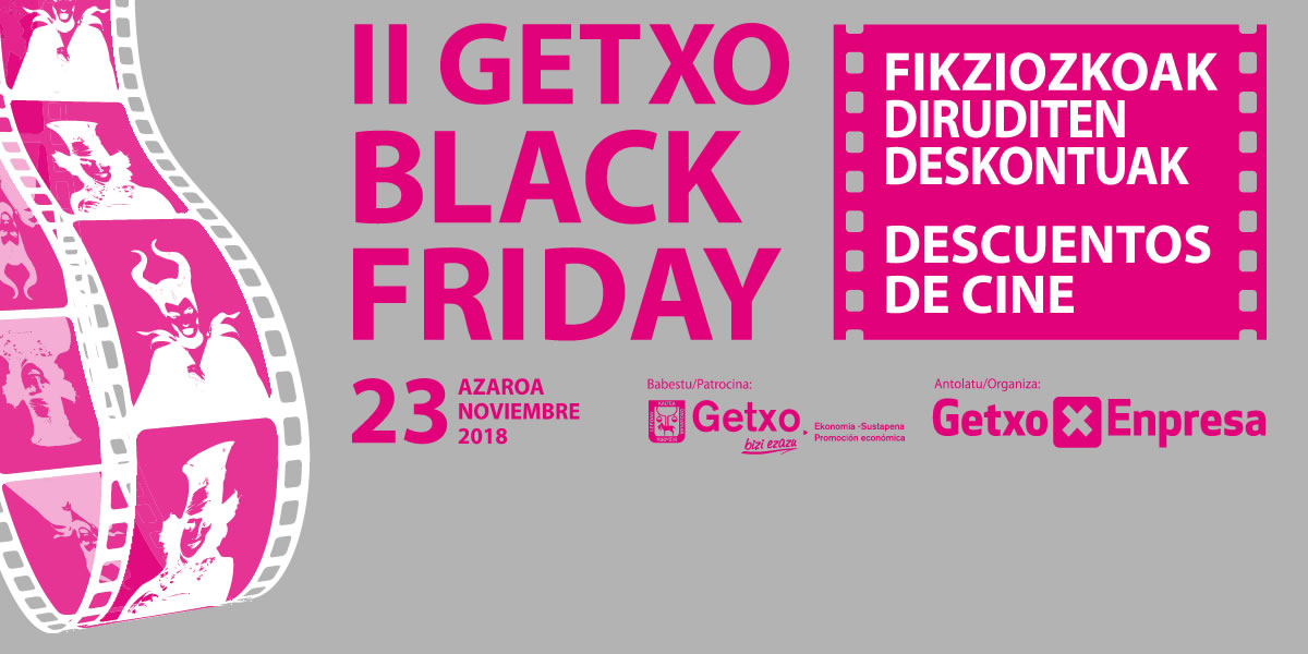 II Getxo Black Friday: Film Discounts