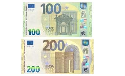 100 ETA 200 EUROKO BILLETE BERRIAK