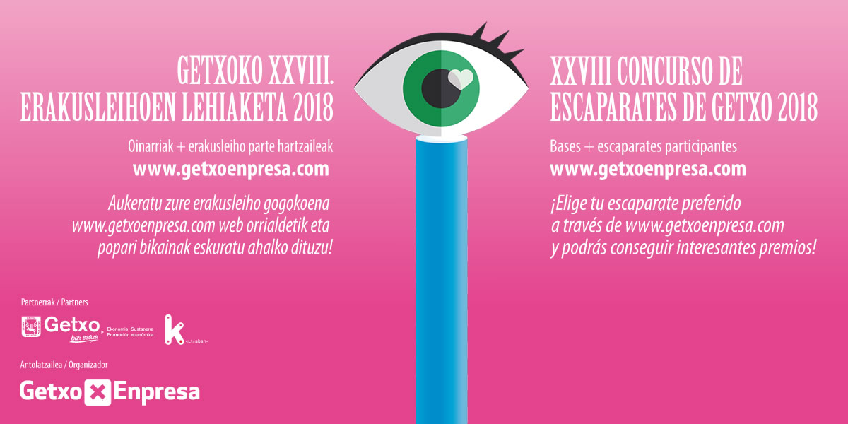 XXVIII CONCURSO DE ESCAPARATES DE GETXO