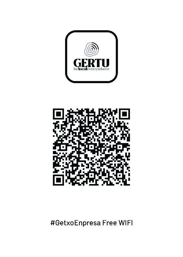 """#GetxoEnpresaFreeWifi Sarea & APP """"GERTU"""""""